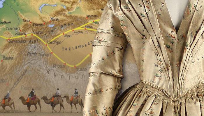 Шелк - «король текстиля». | Фото: fiveminutehistory.com.